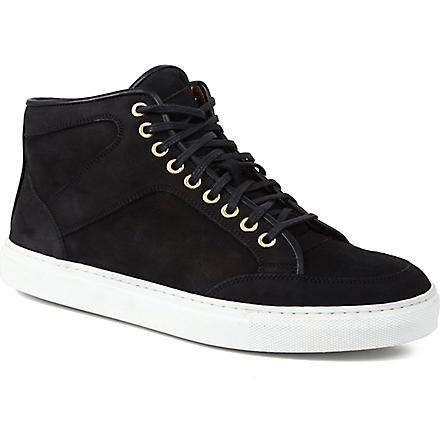 ETQ Mid-top trainers (Navy
