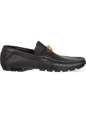 VERSACE Medusa driving shoes