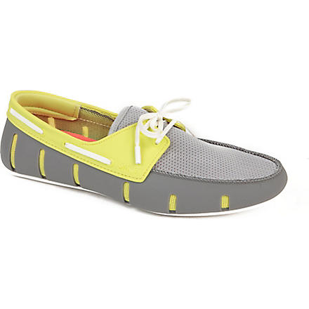 SWIMS Lace-up driver shoes (Grey/other