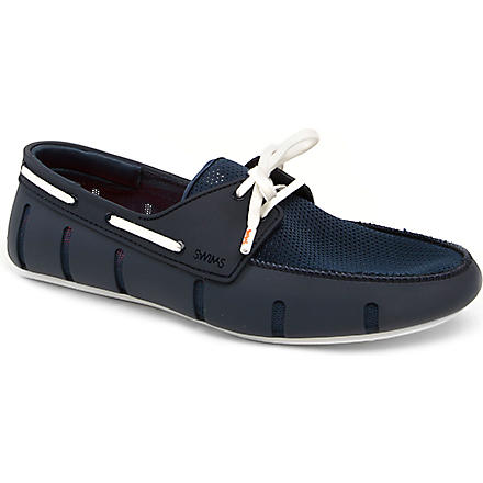 SWIMS Lace-up driver shoes (Navy