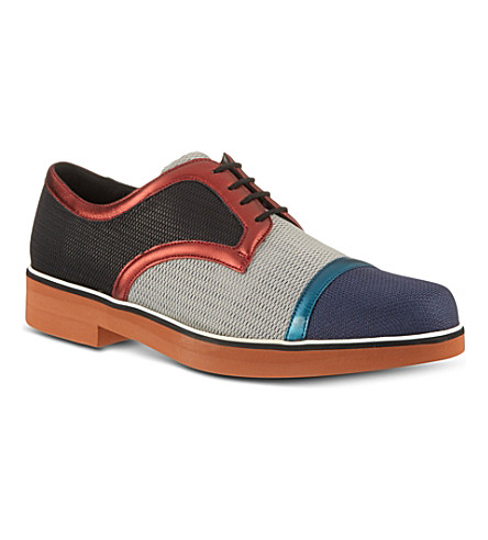 NICHOLAS KIRKWOOD Combo derby shoes (Mult/other