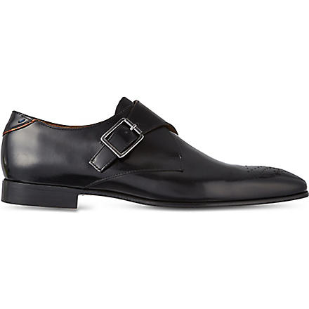 PAUL SMITH Wren monk shoes (Black