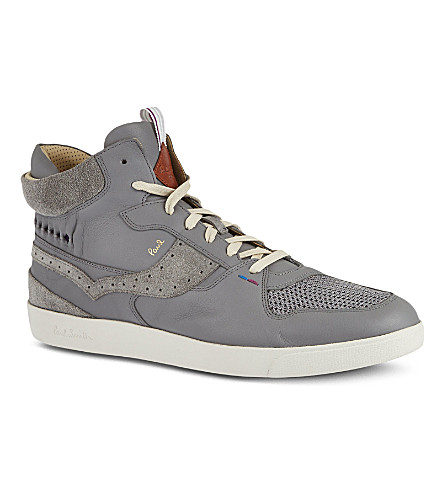 PAUL SMITH Dreyfuss high tops (Grey