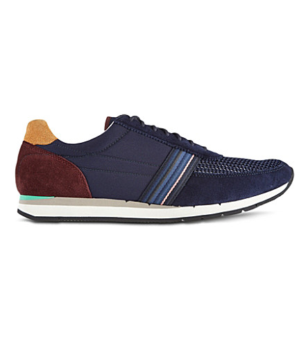 PAUL SMITH Moog runner trainers (Navy