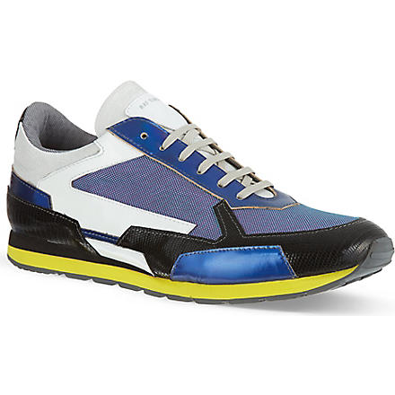 RAF SIMONS Combo trainers (Purple
