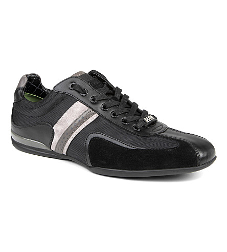 HUGO BOSS Space Up trainers (Black