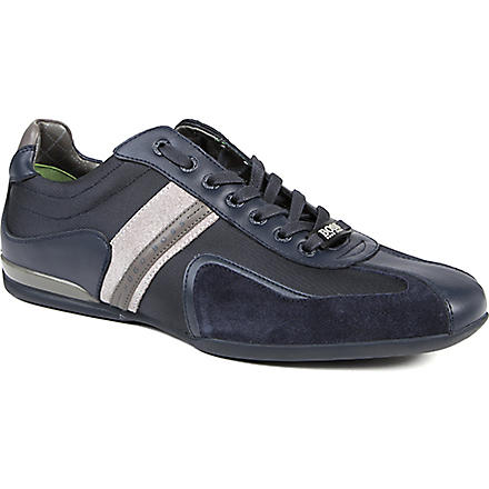 HUGO BOSS Space Up trainers (Navy