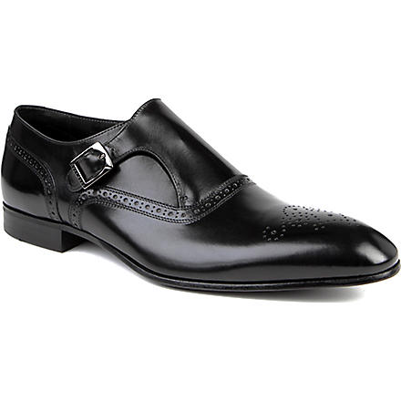 HUGO BOSS Wintox monk shoes (Black