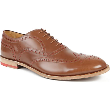 PAUL SMITH Jacob brogues (Tan