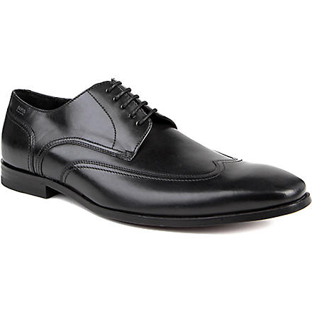 HUGO BOSS Konio wingtip Derby shoes (Black
