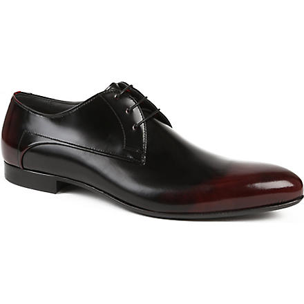 HUGO BOSS Fusion Derby shoes (Blk/red