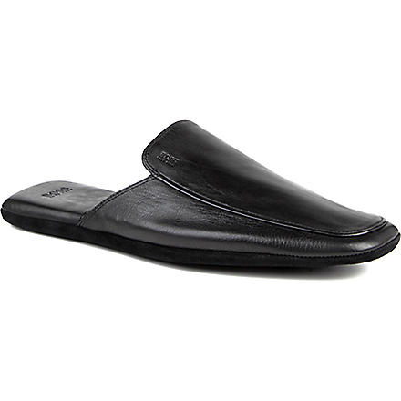 HUGO BOSS Homio mule slipper (Black