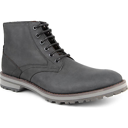 HUGO BOSS O'Snovero lace-up boots (Black