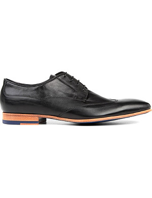 PAUL SMITH Wallace slim wingtip Derby shoes