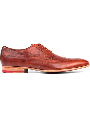 PAUL SMITH Wallace Derby leather shoes