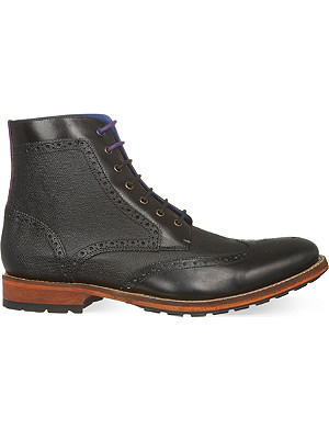 TED BAKER Sealls wingcap boots