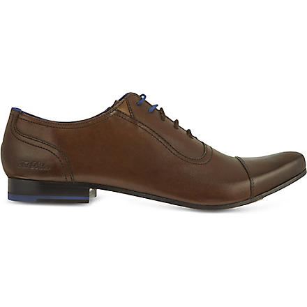 TED BAKER Rogarr toecap shoes (Brown