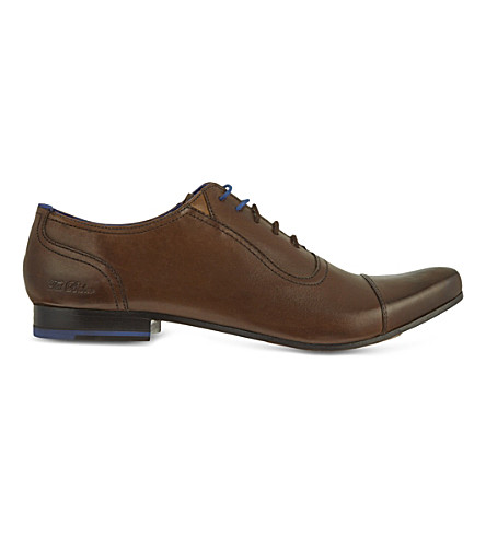 TED BAKER Rogarr toecap shoes (Brown
