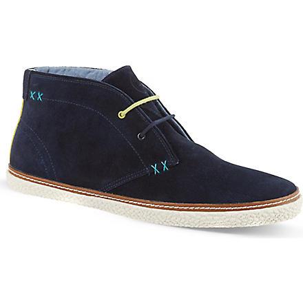 TED BAKER Abdon 2 chukka boots (Blk/blue