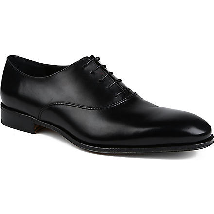 FERRAGAMO Fedele Oxford shoes (Black