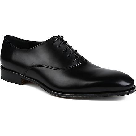 FERRAGAMO Fedele Oxford shoes (Black