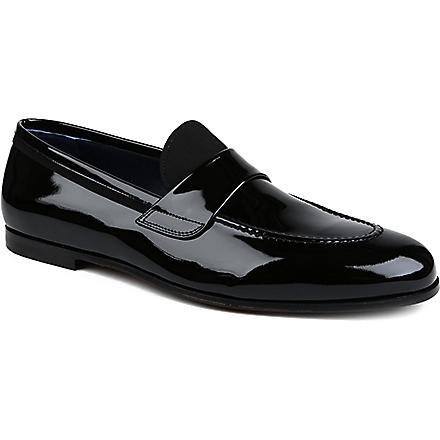 FERRAGAMO Roxy grosgrain-detail loafers (Black