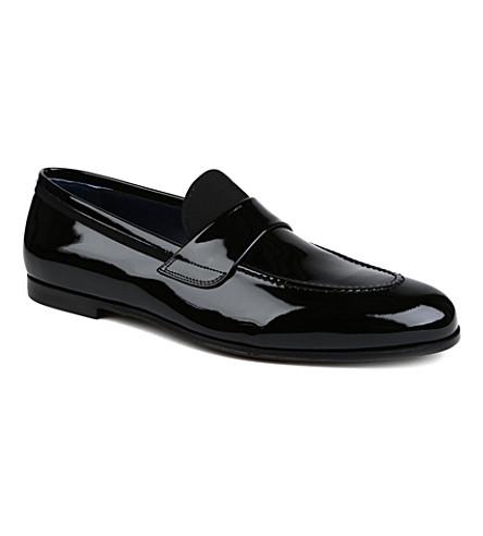 FERRAGAMO Roxy grosgrain-detail loafers (Black