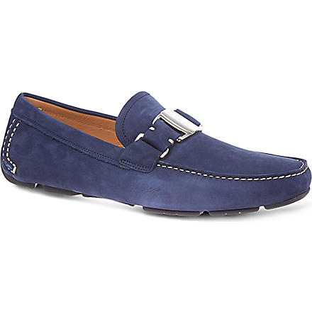 FERRAGAMO Sardenga driving shoes (Blue