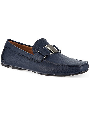 FERRAGAMO Sardenga buckle driving shoes