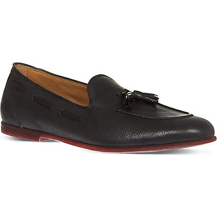 FERRAGAMO Riva loafers (Grey/other