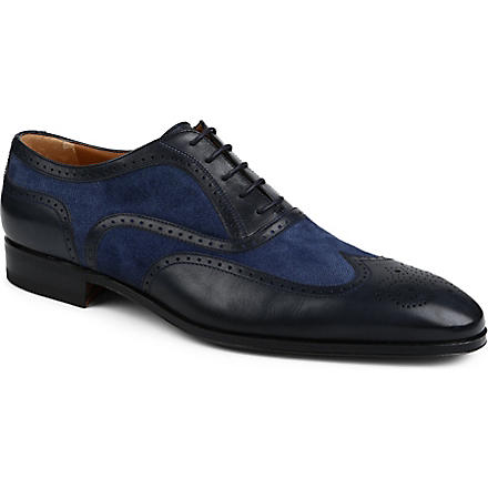 STEMAR Denim Oxford shoes (Navy