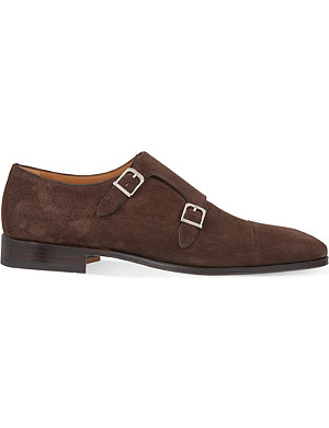 STEMAR Toecap double monk shoes