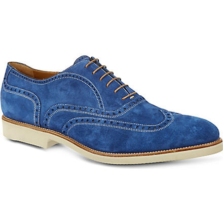 STEMAR Stefano Gim suede loafers (Blue