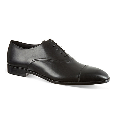 ERMENEGILDO ZEGNA Oxford shoes (Black