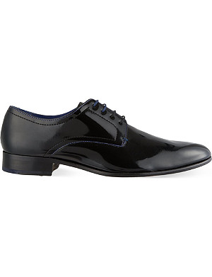 TED BAKER Billay polished Derby shoes