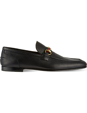 GUCCI New Power horsebit loafers