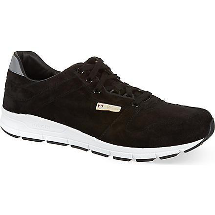 GUCCI Ipanema running trainers (Black