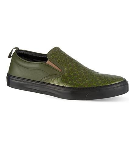 GUCCI Board skate shoes (Green