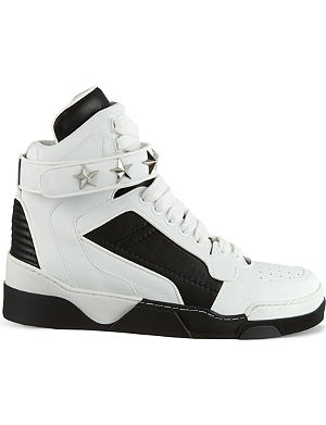 GIVENCHY Tyson Star high-top leather trainers