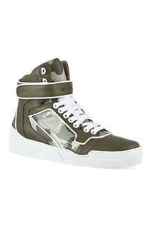 GIVENCHY Camo high-top trainers