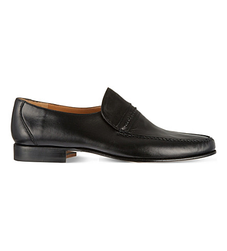 STEMAR Jesola leather loafers (Black