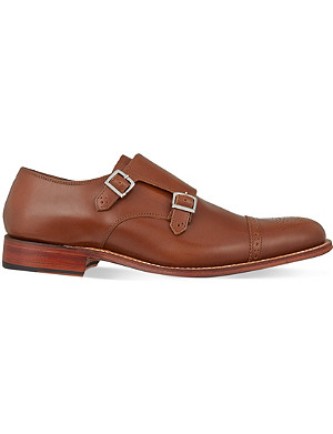 GRENSON Ellery double monk shoes