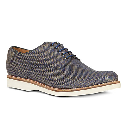GRENSON Jerry derby shoes (Blue