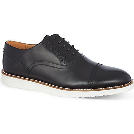 KG KURT GEIGER Ratner wedge Oxford shoes (Black