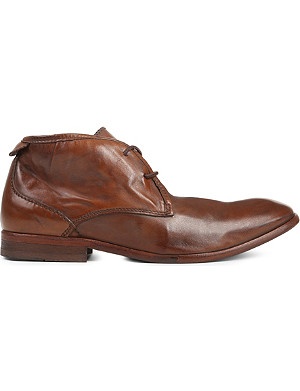 H BY HUDSON Cruise leather desert boots