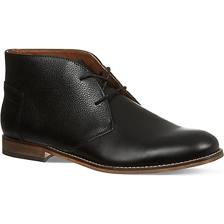 H BY HUDSON Viking Chukka boots (Black