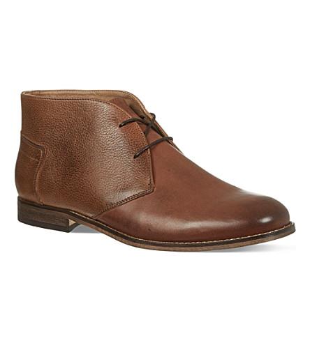 H BY HUDSON Viking Chukka boots (Tan