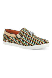 H BY HUDSON Fountain woven slip on shoes