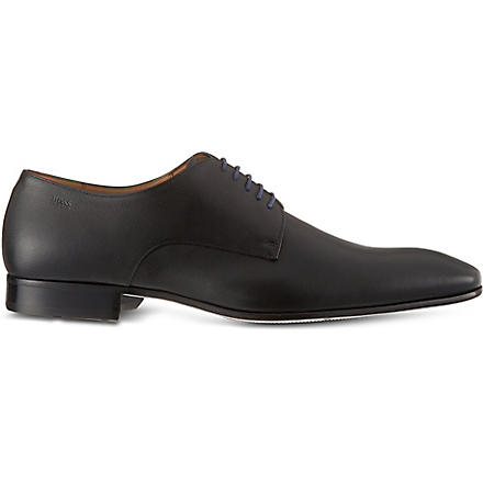 HUGO BOSS Prindo leather Derby shoes (Black