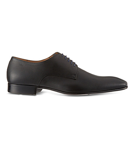 BOSS Prindo leather Derby shoes (Black
